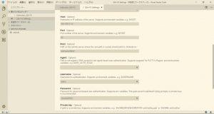 SSH接続詳細設定-Visual Studio Code-